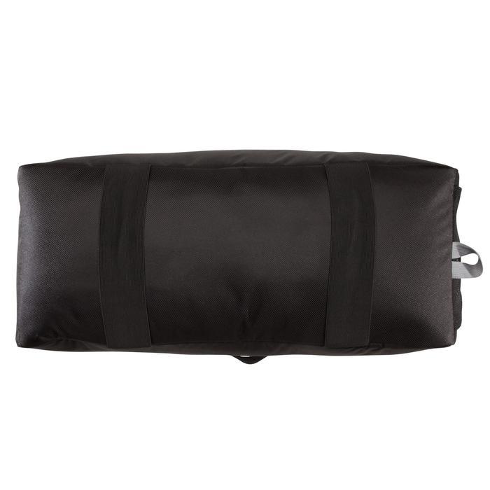 Bolsa de fitness cardio-training 30 litros negra con triángulos premium