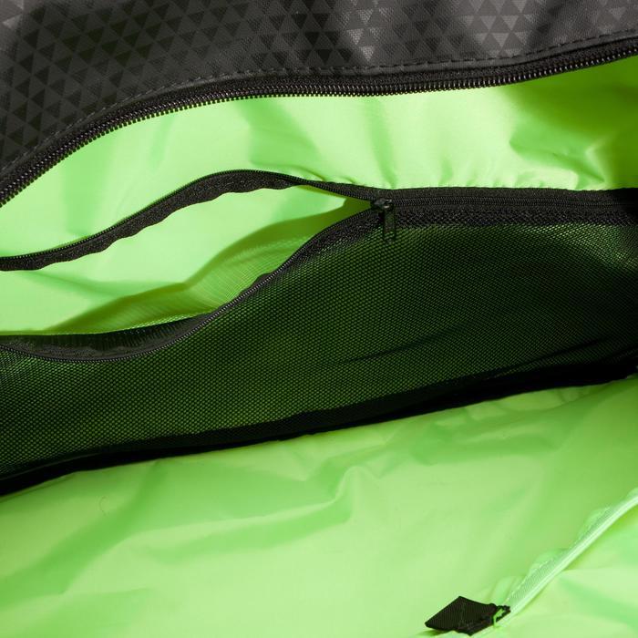 Sac fitness 30 Litres imprimé vert noir et Domyos - 1309126