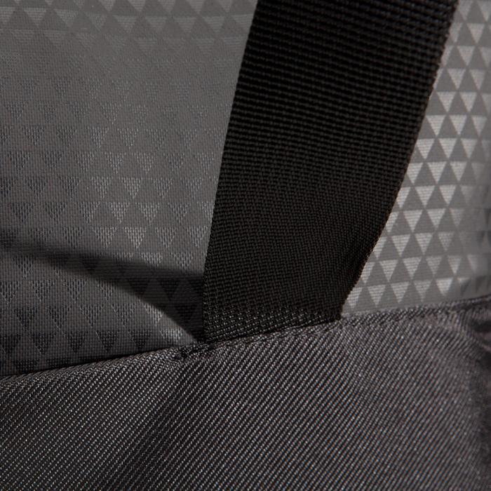 Cardiofitness tas 30 liter zwart met driehoek dessin premium