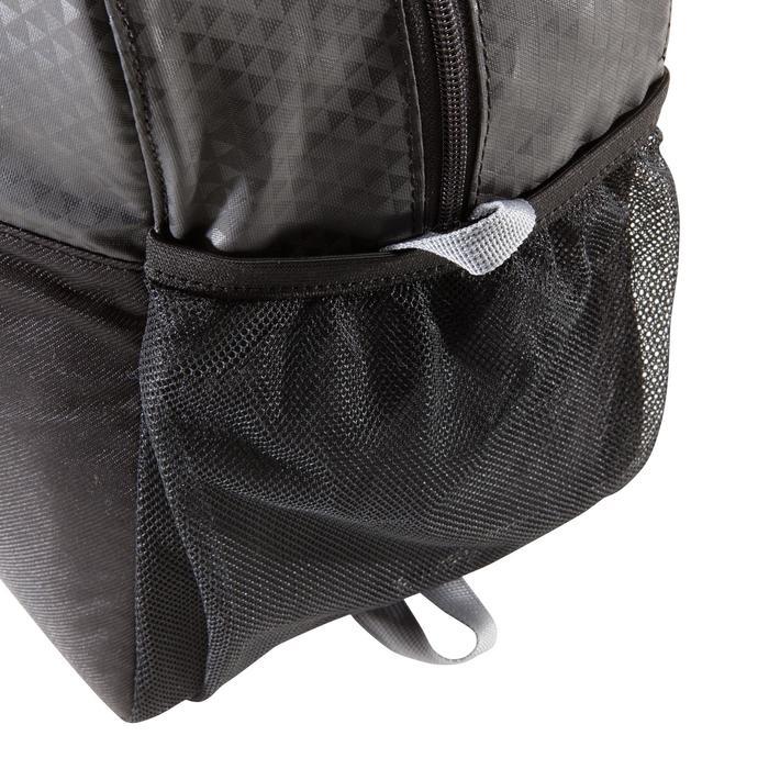 Sac fitness cardio-training 30 Litres noir dessiné triangle premium - 1309238
