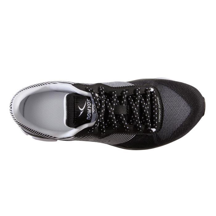 Cardiofitness schoenen 500 voor dames zwart en wit