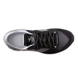 Zapatillas Fitness Cardio Dance Domyos 500 Adulto Negro/Blanco