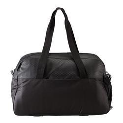 Sporttasche Premium Fitness 30l schwarz mit Dreicksmuster