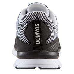 Zapatillas Fitness Cardio Dance Domyos 500 Adulto Negro/Blanco