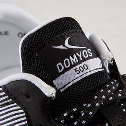 Fitnessschuhe Cardio 500 Damen schwarz/weiß