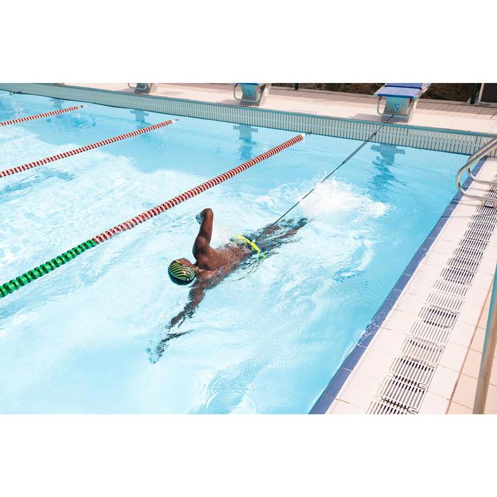 Zwemelastiek 500 riem blauw/groen