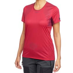 Trekkingshirt Trek 100 Damen pink