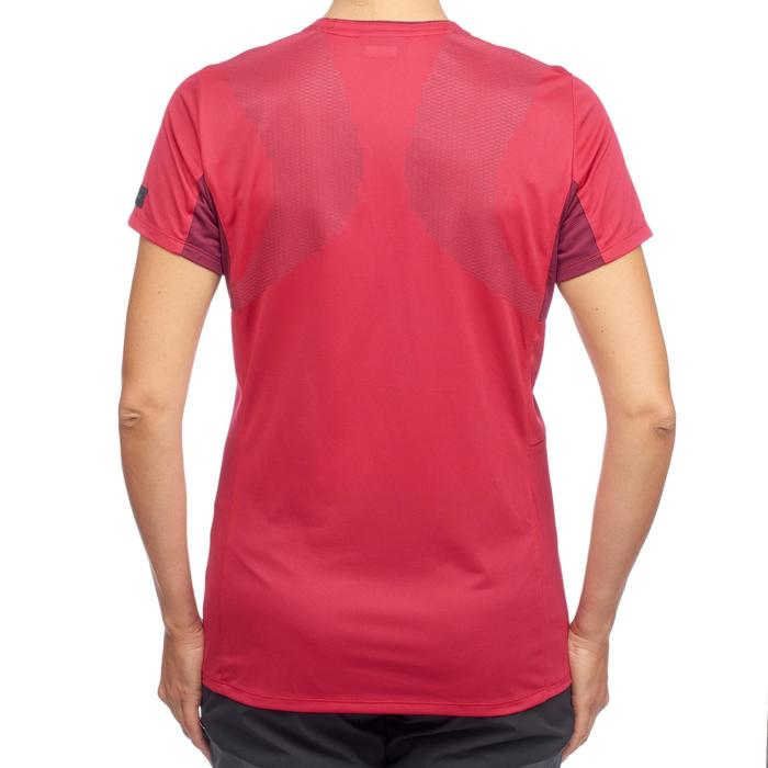 T-shirt manches courtes trekking montagne TREK 100 femme - 1309706