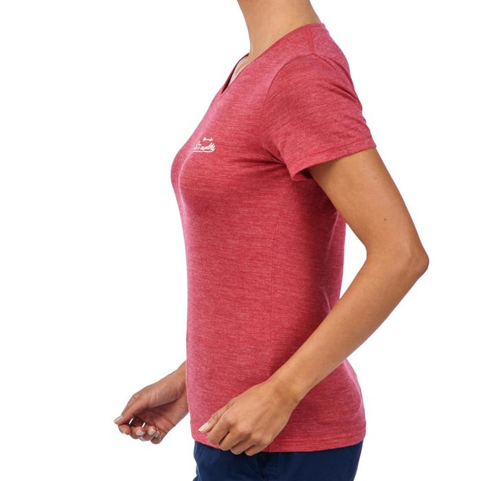 Tee-Shirt manches courtes TRAVEL 500 laine Femme - 1309707