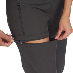 Zip-off-Hose Travel 500 Damen grau