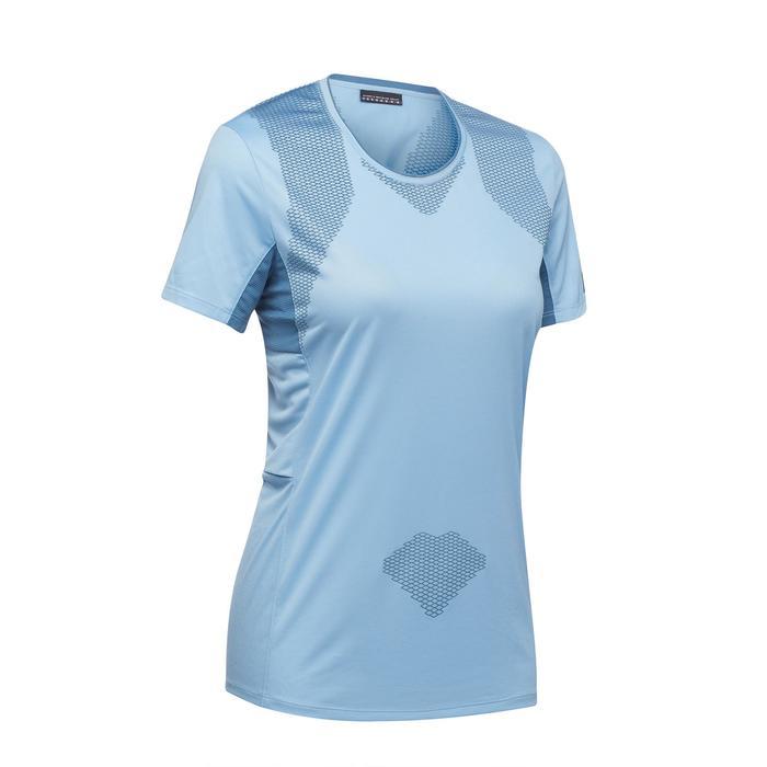 T-shirt manches courtes trekking montagne TREK 100 femme - 1309737