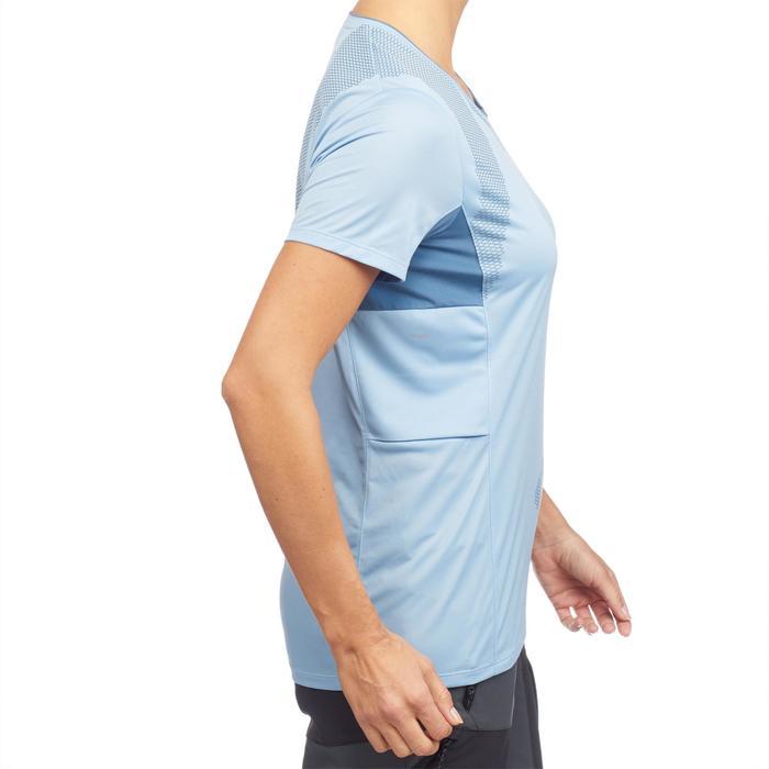T-shirt manches courtes trekking montagne TREK 100 femme - 1309751