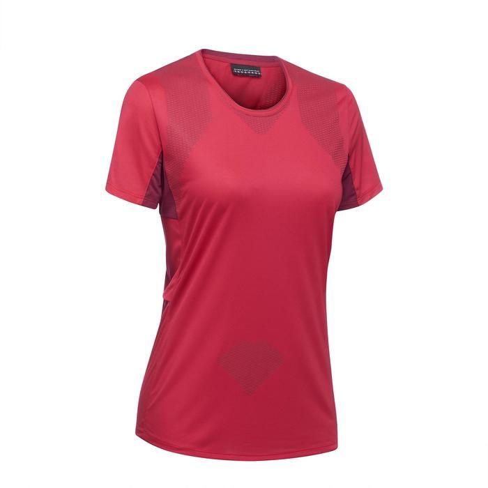 T-shirt manches courtes trekking montagne TREK 100 femme - 1309788