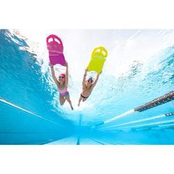 Zwemslip voor jongens 100 basic blauw