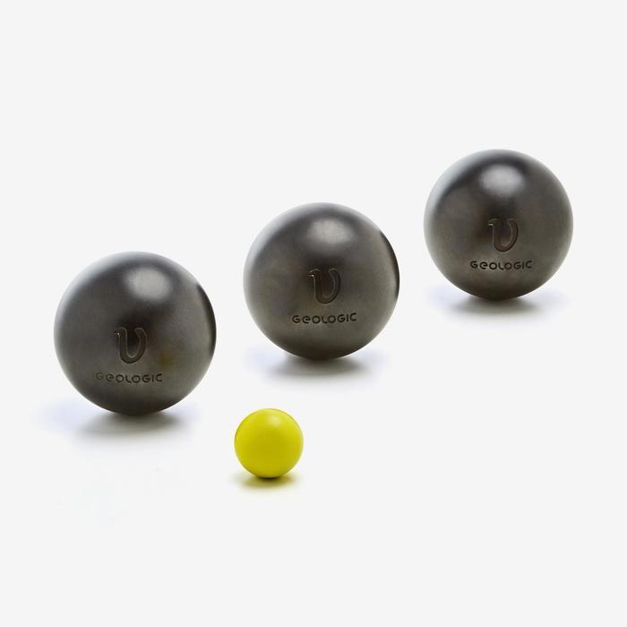 軟式比賽用法式滾球3入