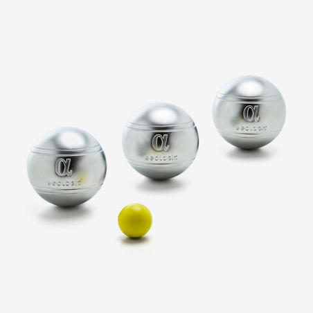 3 Alpha Competition Solid Petanque Boules