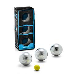 3 harde petanqueballen voor competitie Alpha