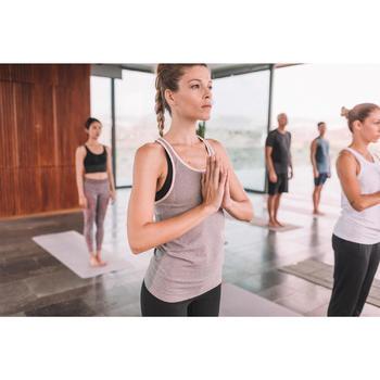 Débardeur sans coutures Yoga femme gris/bleu - 1309982