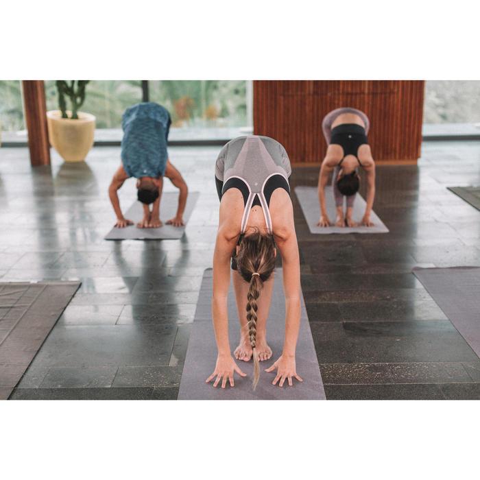 Débardeur sans coutures Yoga femme gris/bleu - 1309983
