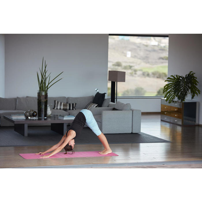 Yogamatte weich TPE 5mm rosa