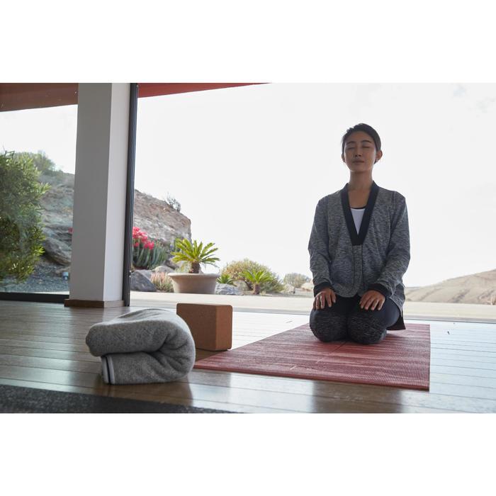 Couverture de Yoga grise - 1310008