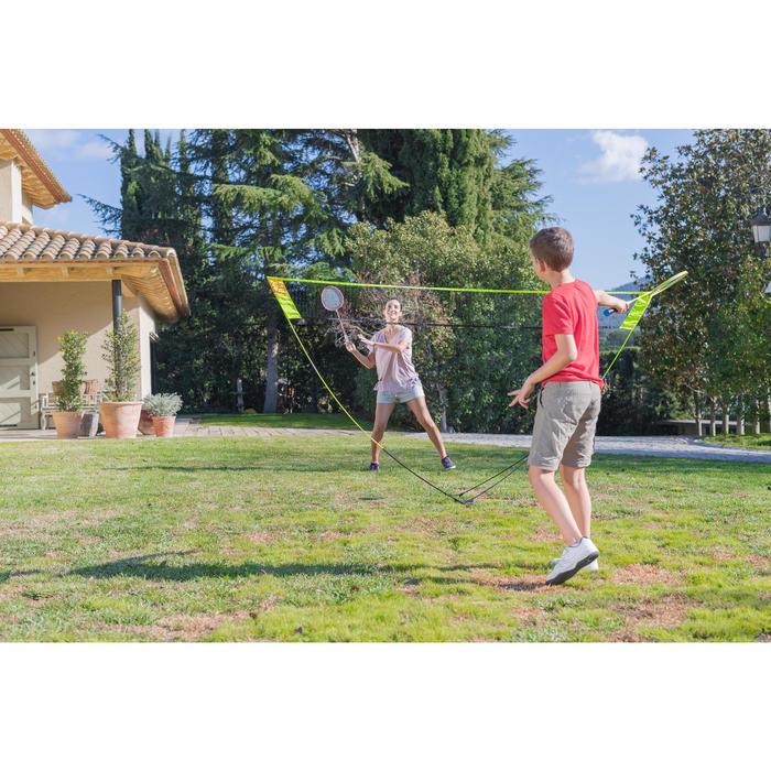 Filet de Badminton Easy Set Discover - Jaune