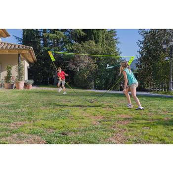 Badminton-Netz Easy Discover gelb