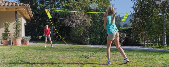 filet de badminton easy set discover
