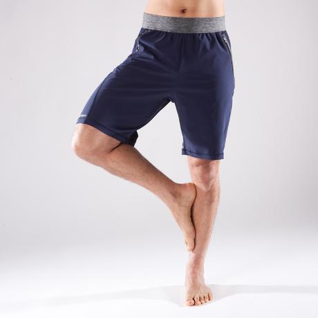 Yogashorts för dynamisk yoga Herr blå. Previous. Next 49e7fe18add1e