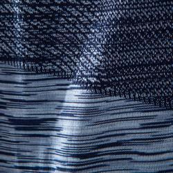 Debardeur YOGA sans coutures noir/bleu homme