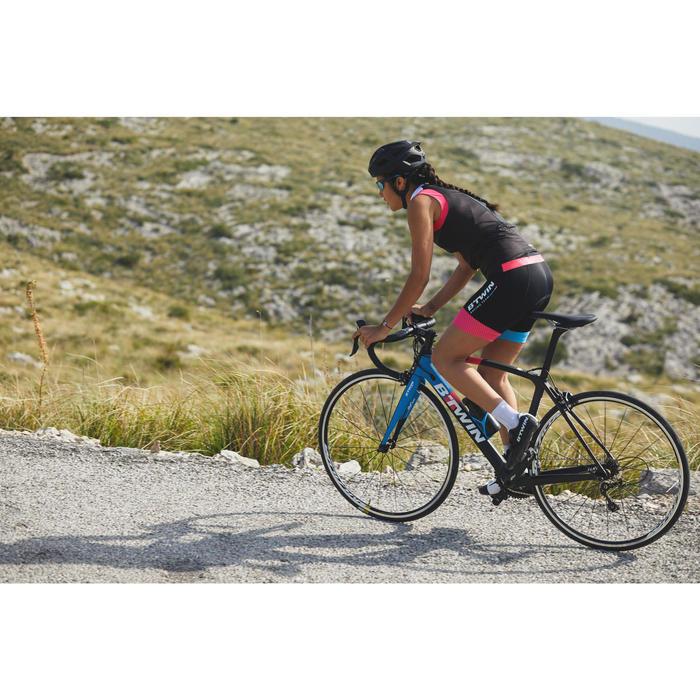 Kurze Radhose Rennrad 900 Team Damen