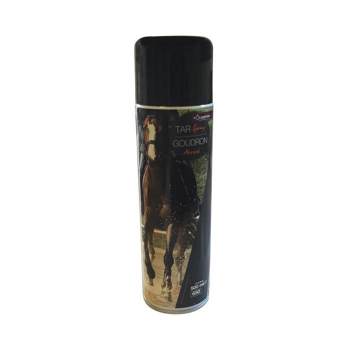 Goudron de pin en spray équitation cheval et poney 500 ML noir - 131067
