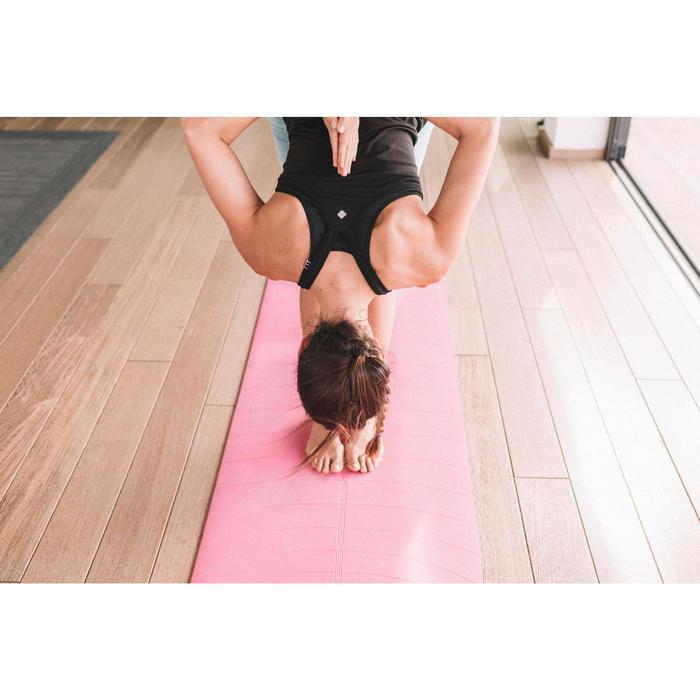 Débardeur sans coutures Yoga femme gris/bleu - 1310862