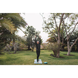 Pantalón Chándal Yoga Domyos Hombre Negro