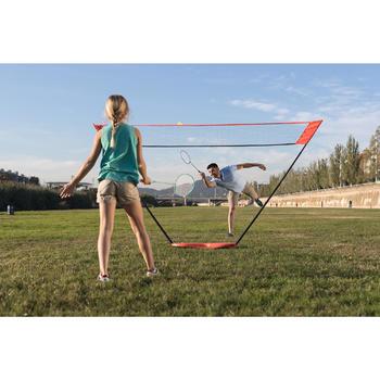 Badminton-Netz Easy Set 3m orange