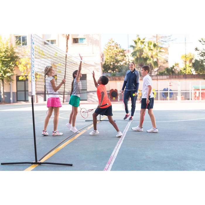 Badminton-/tennisnet met palen Speednet 500