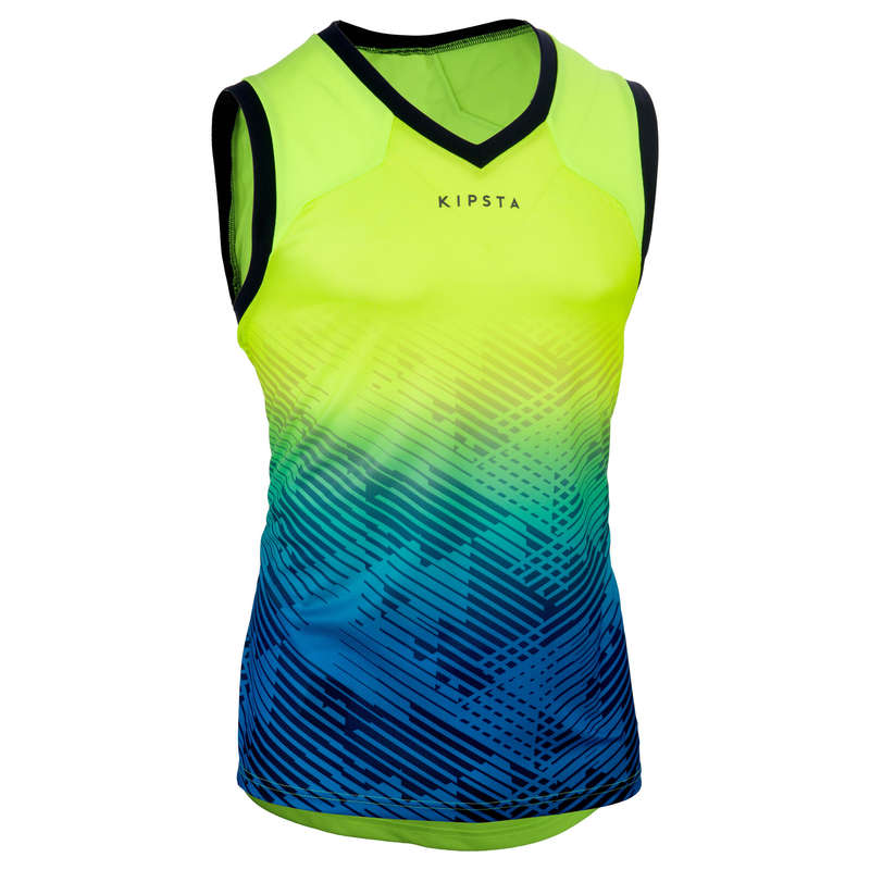 APPAREL RUGBY MEN Rugby - Men's Tank Top R500 - Yellow OFFLOAD - Rugby Clothing