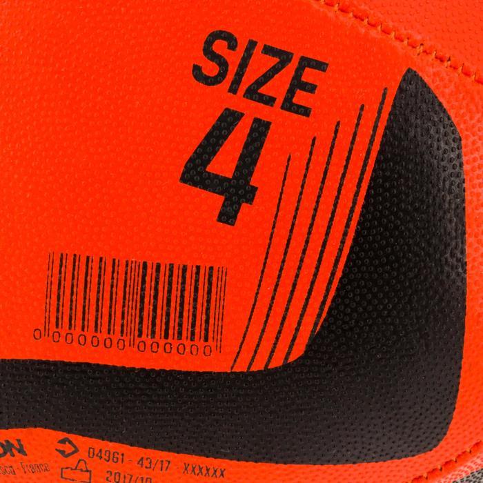 Ballon rugby R100 taille 4 orange - 1311082