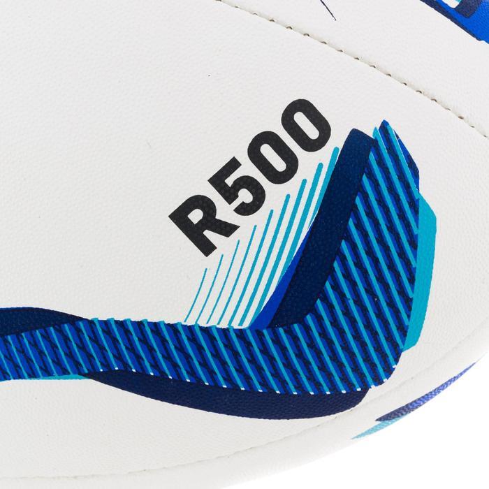 Ballon de rugby R500 taille 5 bleu