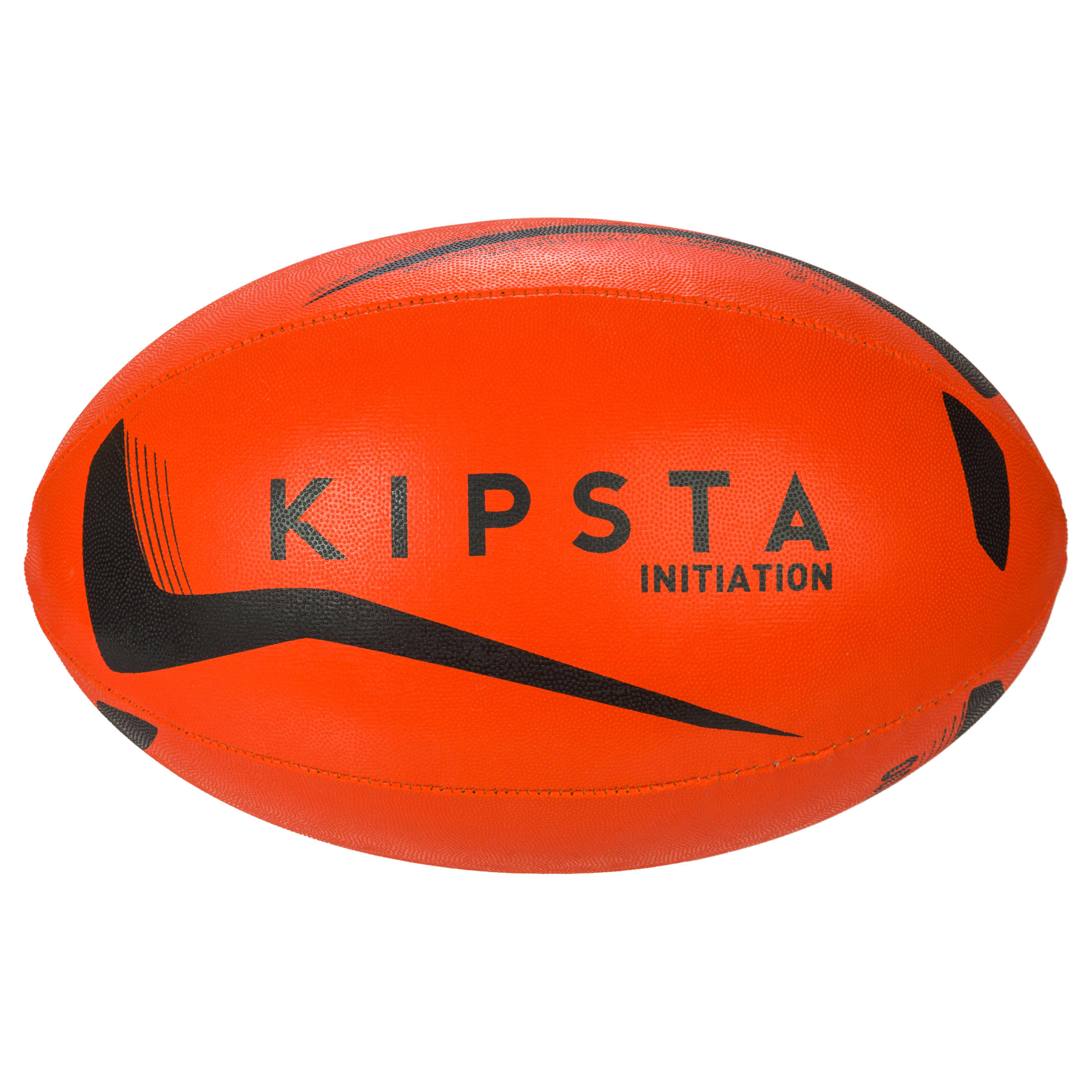 R100 Size 4 Rugby Ball - Orange