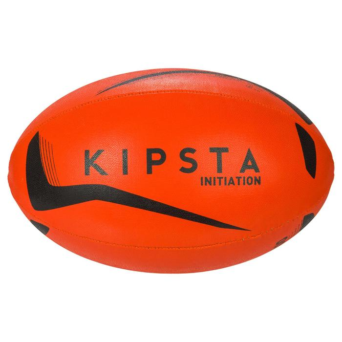 Ballon rugby R100 taille 4 orange - 1311103