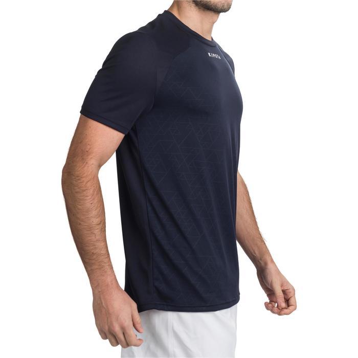 Rugby-Shirt Performance R500 Erwachsene blau