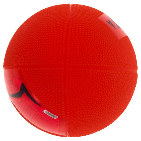 Mini R100 Recreational PVC Rugby Ball - Red