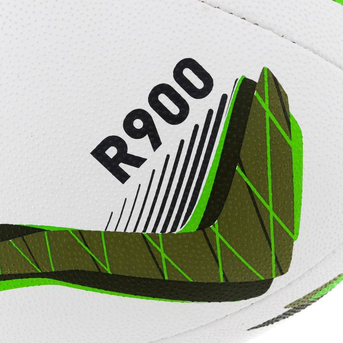 Ballon rugby R900 taille 5 vert