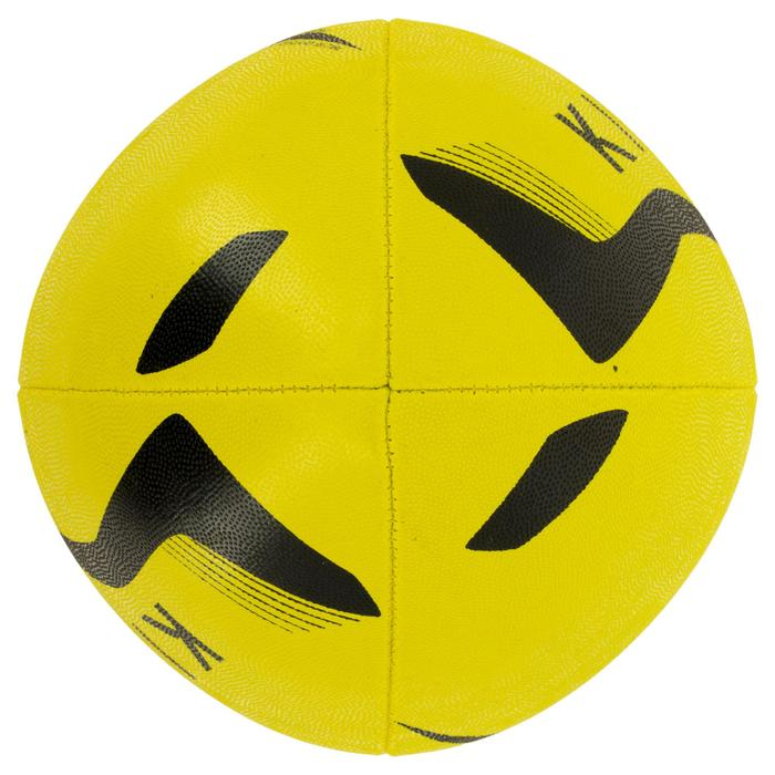 Ballon rugby R100 taille 3 jaune