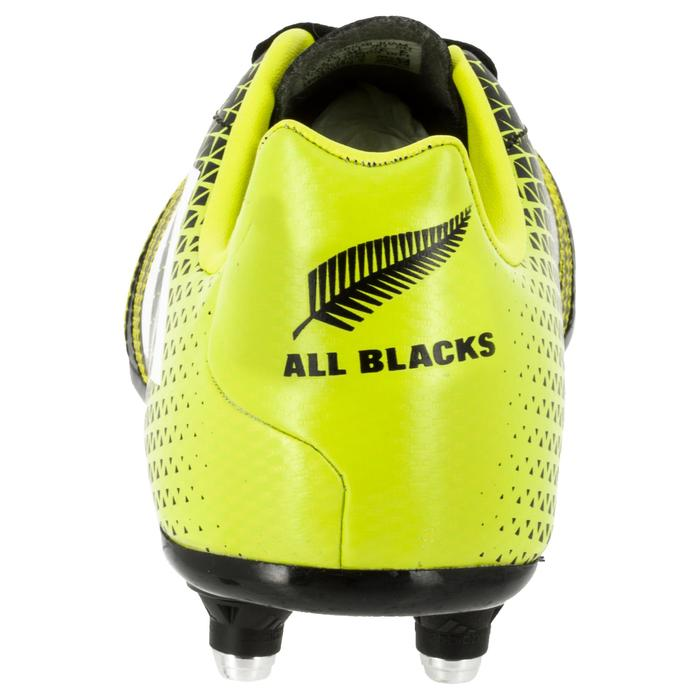 Chaussure de rugby enfant 6 crampons Kakari SG noir/jaune - 1311135