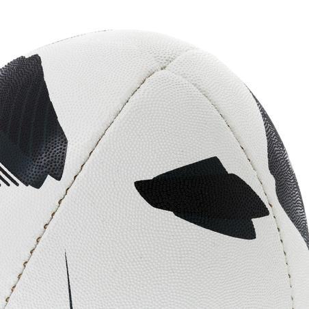 5.izmēra regbija bumba R300, melna