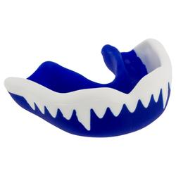 Mundschutz Rugby Viper Kinder blau/weiß