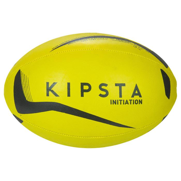 Ballon rugby R100 taille 3 jaune - 1311145