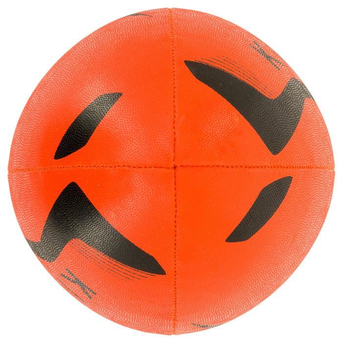 Ballon rugby R100 taille 4 orange - 1311156